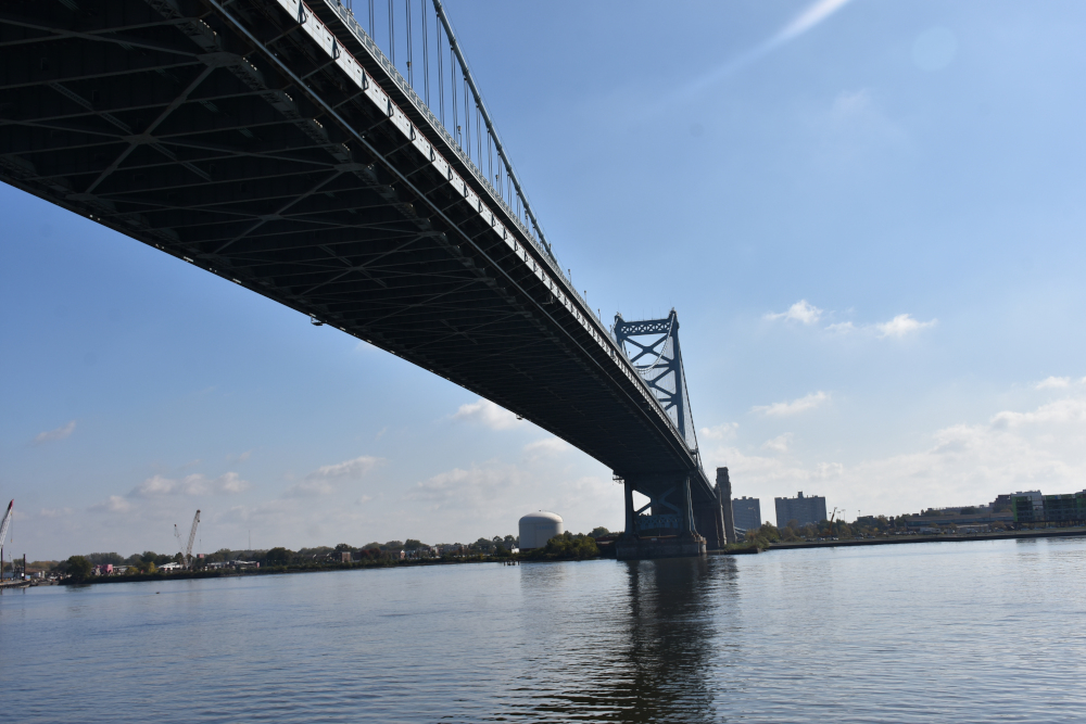 Most Benjamina Franklina wFiladelfii